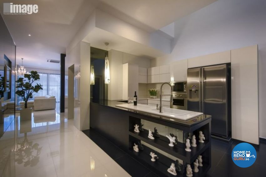 Classical, Contemporary Design - Kitchen - Landed House - Design by Image Creative Design Pte Ltd