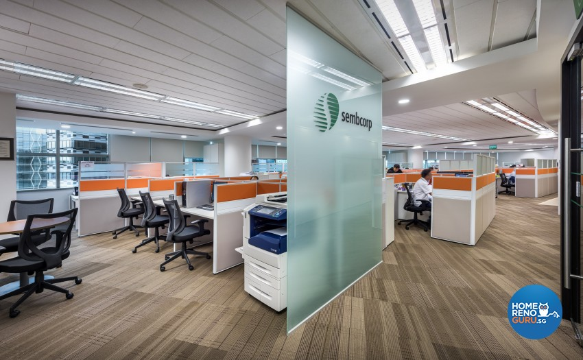 Modern Design - Commercial - Office - Design by Image Creative Design Pte Ltd