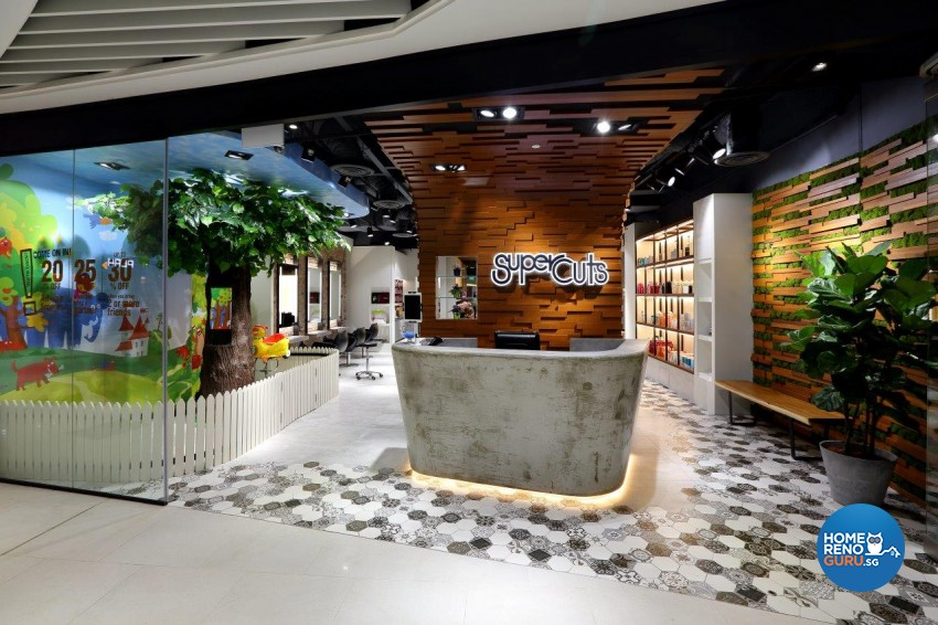 Rustic Design - Commercial - Retail - Design by Image Creative Design Pte Ltd
