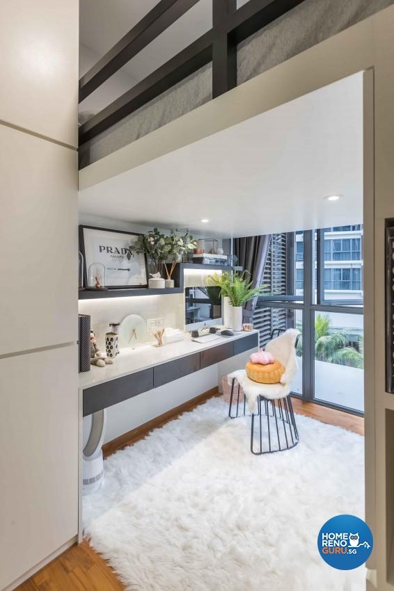 Contemporary, Modern Design - Bedroom - Condominium - Design by Image Creative Design Pte Ltd