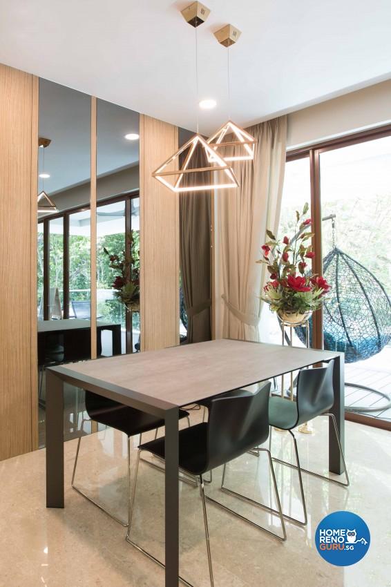 Classical, Modern Design - Dining Room - Condominium - Design by Imposed Design