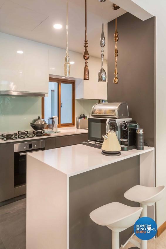 Classical, Modern Design - Kitchen - Condominium - Design by Imposed Design