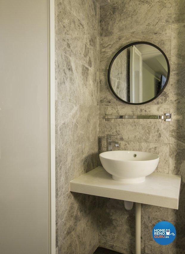 Industrial, Modern Design - Bathroom - HDB 4 Room - Design by Imposed Design