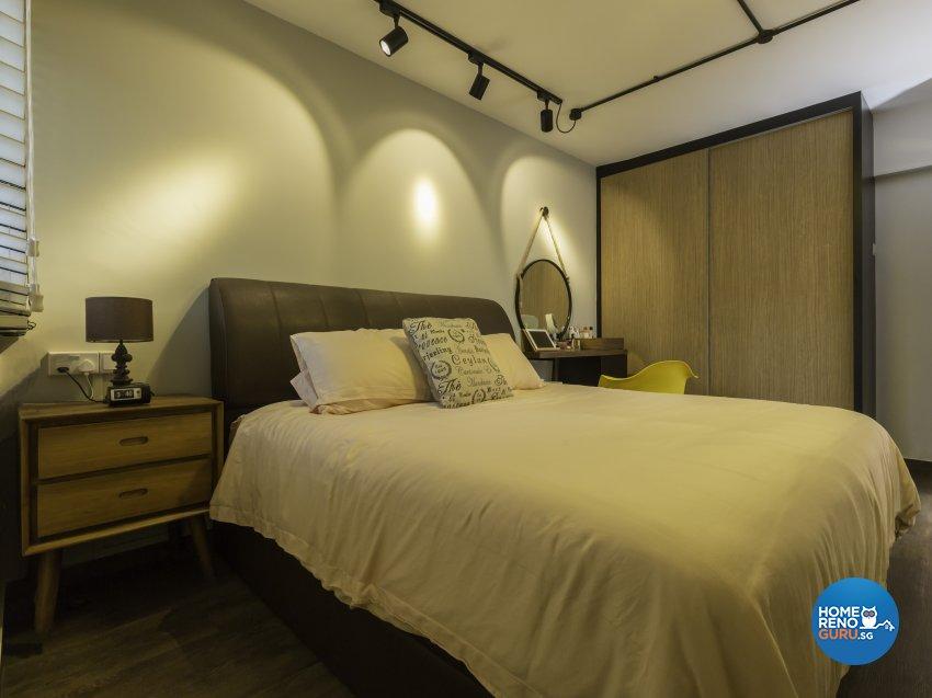 Industrial, Modern Design - Bedroom - HDB 4 Room - Design by Imposed Design