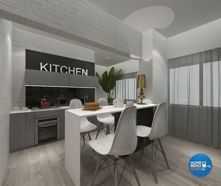 Contemporary, Minimalist, Modern Design - Kitchen - Others - Design by Imposed Design