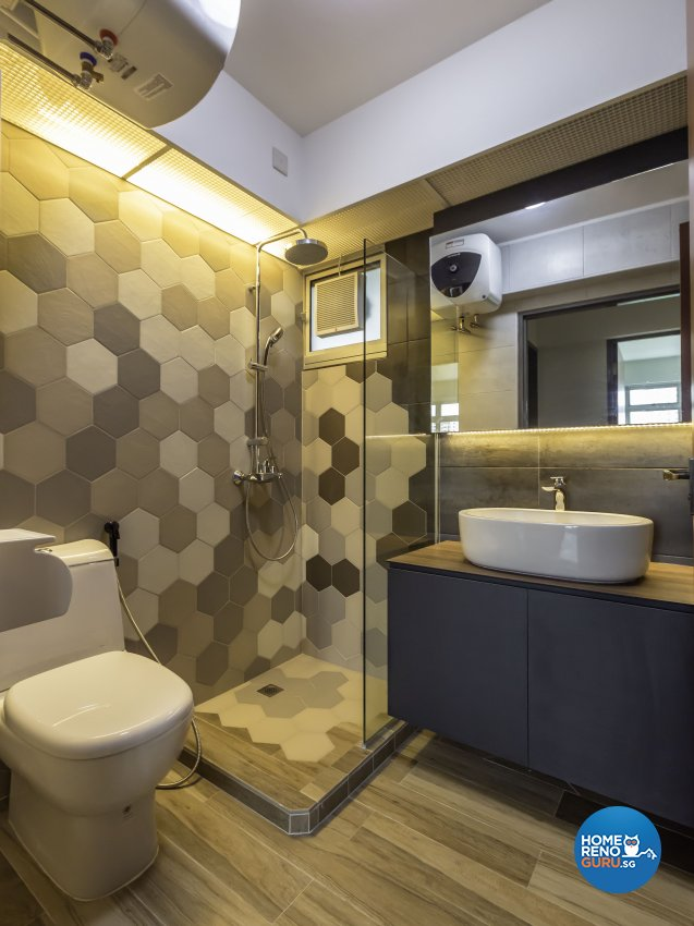 Scandinavian Design - Bathroom - HDB 4 Room - Design by Imposed Design