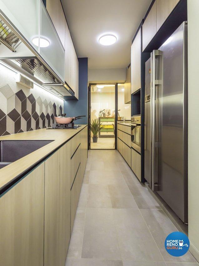 Scandinavian Design - Kitchen - HDB 4 Room - Design by Imposed Design