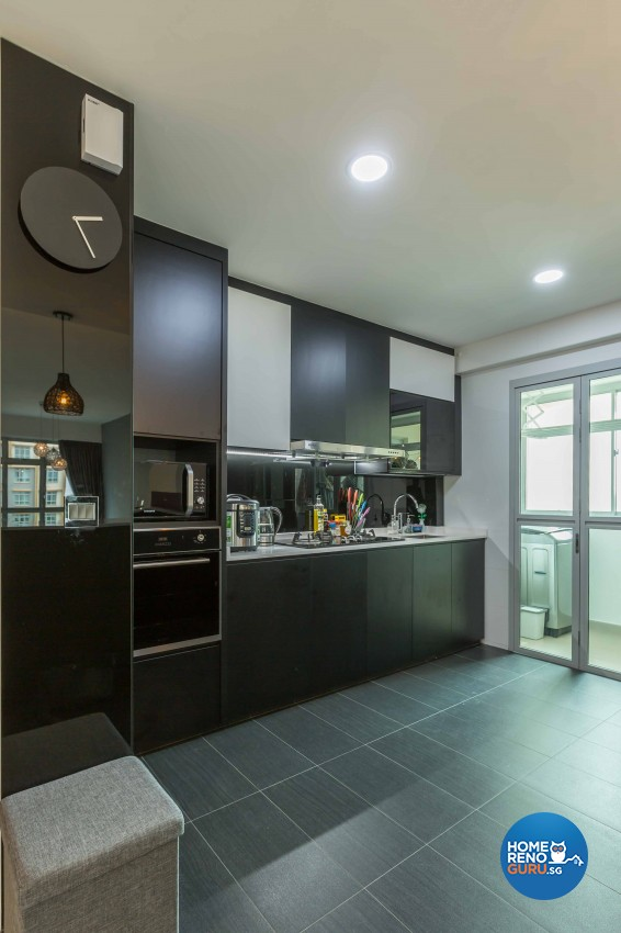 Contemporary, Modern Design - Kitchen - HDB 5 Room - Design by Imposed Design