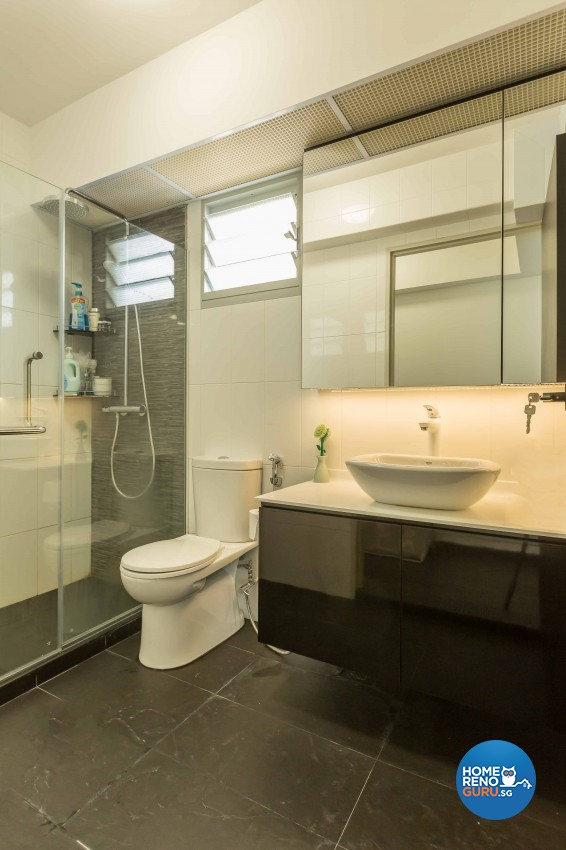 Contemporary, Modern Design - Bathroom - HDB 5 Room - Design by Imposed Design