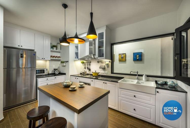 Country, Modern Design - Kitchen - Condominium - Design by Imposed Design