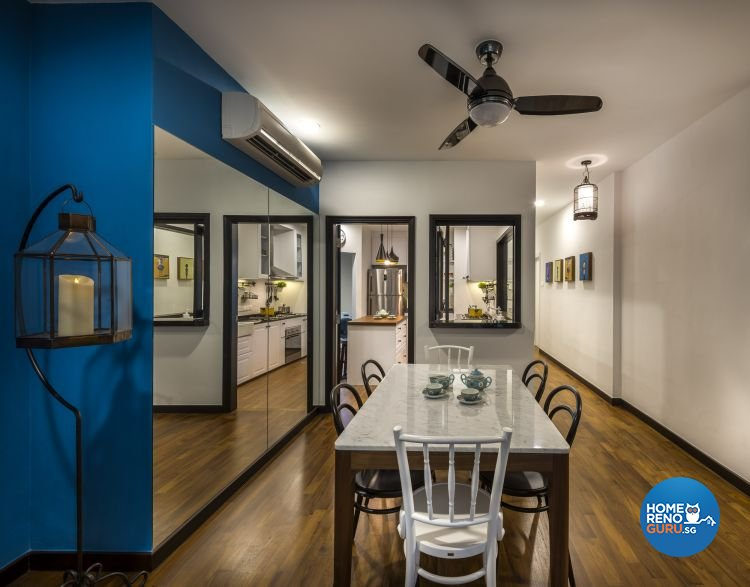 Country, Modern Design - Dining Room - Condominium - Design by Imposed Design