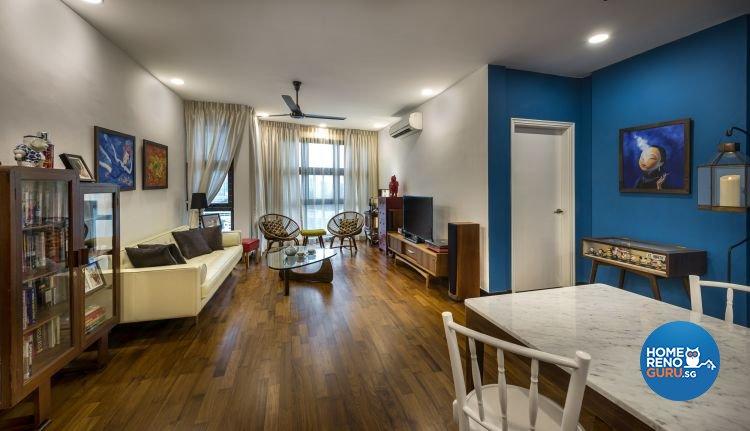 Country, Modern Design - Living Room - Condominium - Design by Imposed Design