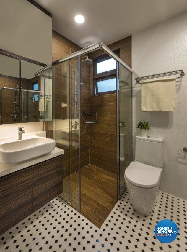 Country, Modern Design - Bathroom - Condominium - Design by Imposed Design