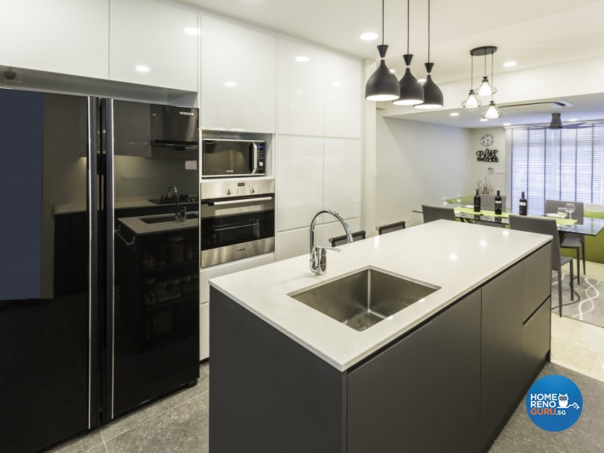 Contemporary, Modern Design - Kitchen - Landed House - Design by Imposed Design