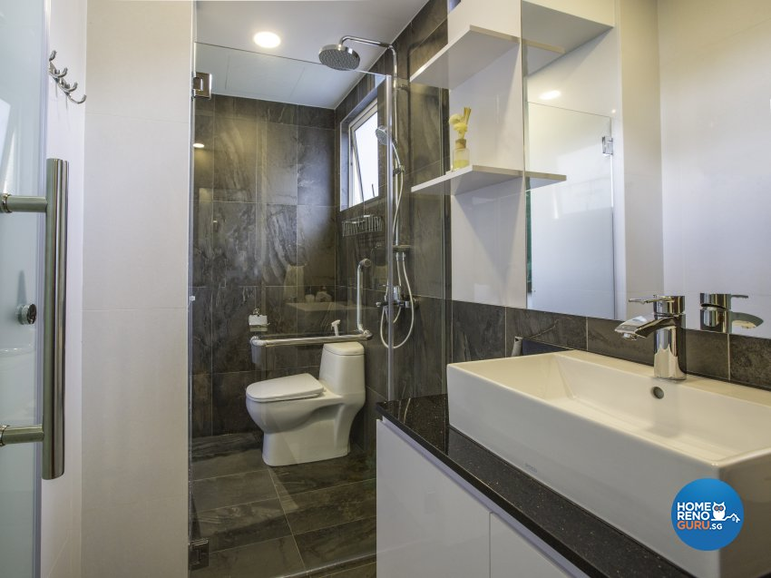 Contemporary, Modern Design - Bathroom - Landed House - Design by Imposed Design