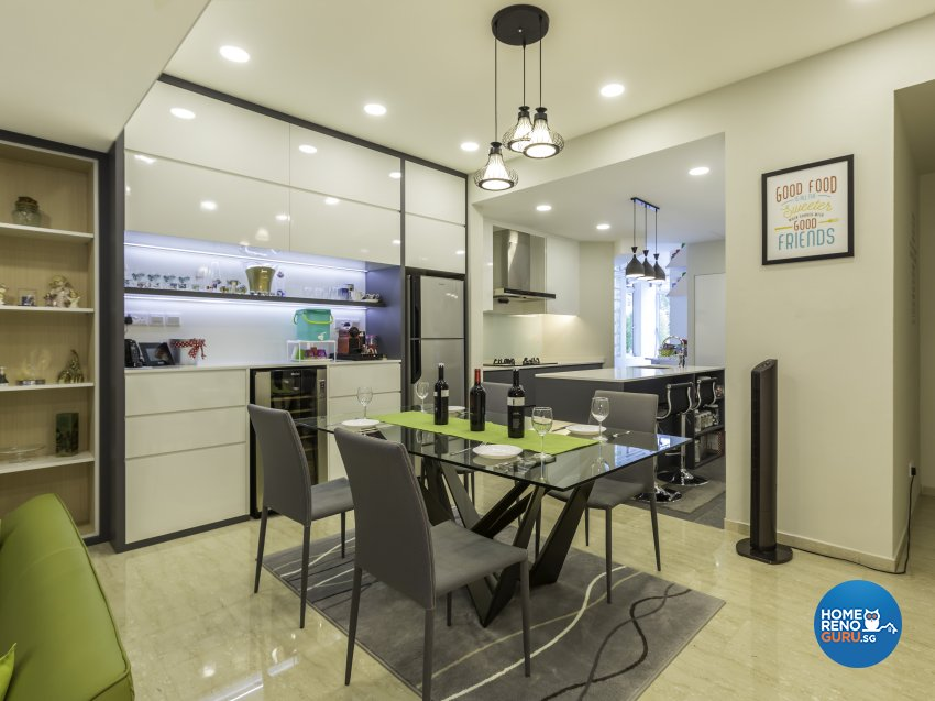 Contemporary, Modern Design - Dining Room - Landed House - Design by Imposed Design