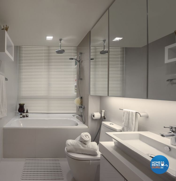 Classical, Country, Modern Design - Bathroom - Condominium - Design by Imposed Design