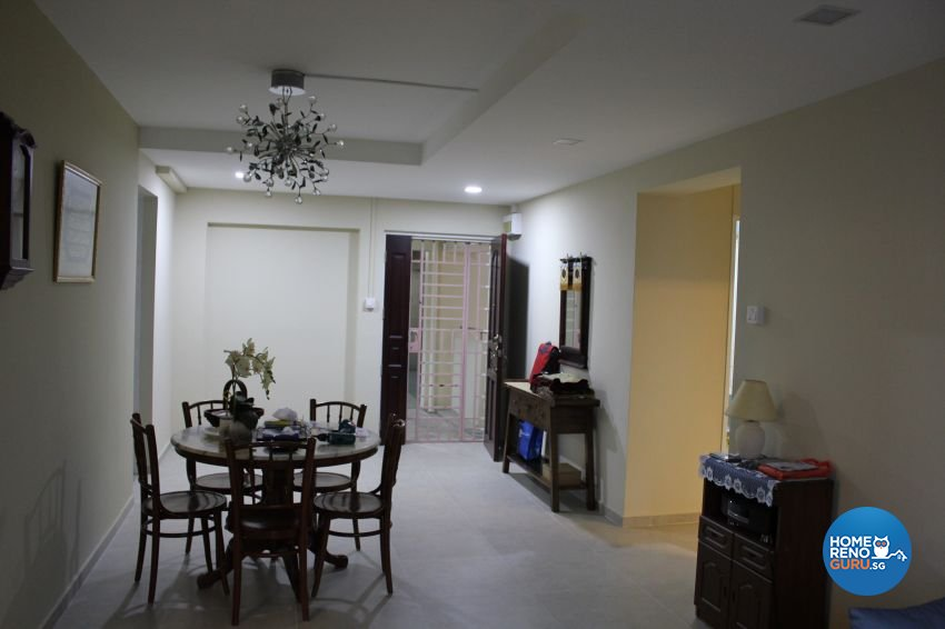 Classical, Contemporary, Country Design - Dining Room - HDB 4 Room - Design by Impression Design Firm Pte Ltd