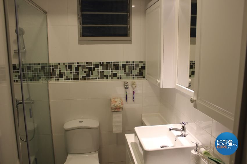 Classical, Country, Victorian Design - Bathroom - HDB 4 Room - Design by Impression Design Firm Pte Ltd