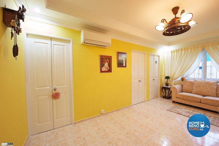 Classical, Contemporary, Country Design - Study Room - HDB Executive Apartment - Design by Impression Design Firm Pte Ltd
