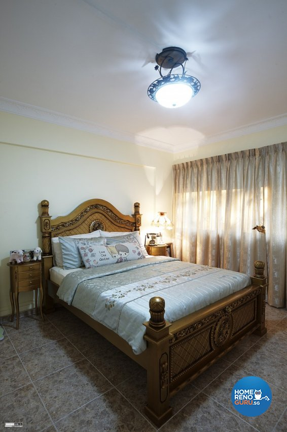 Classical, Contemporary, Country Design - Bedroom - HDB Executive Apartment - Design by Impression Design Firm Pte Ltd