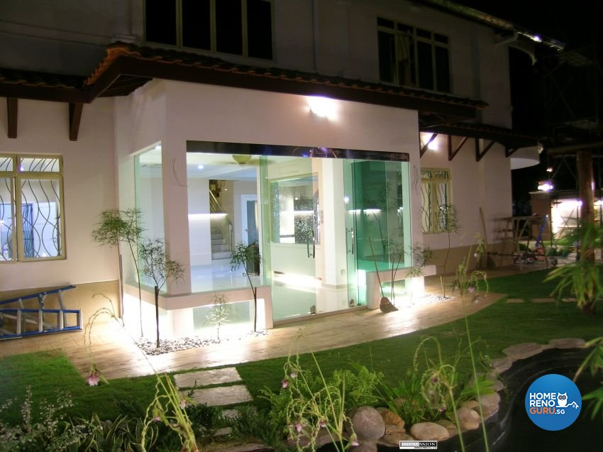 Classical, Contemporary, Modern Design - Garden - Landed House - Design by Impression Design Firm Pte Ltd