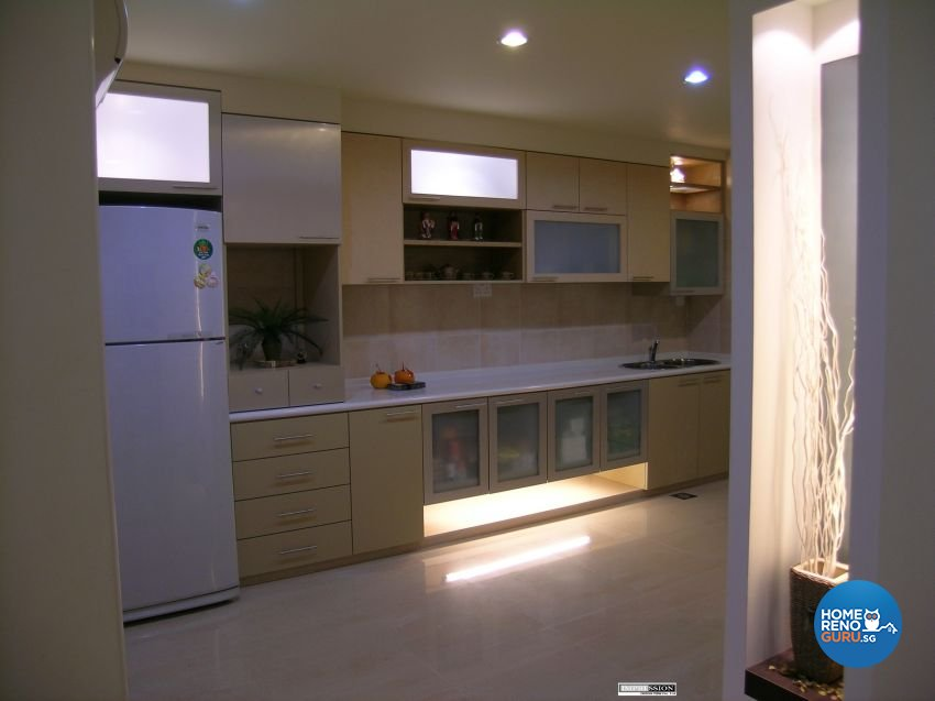 Classical, Contemporary, Modern Design - Kitchen - Landed House - Design by Impression Design Firm Pte Ltd