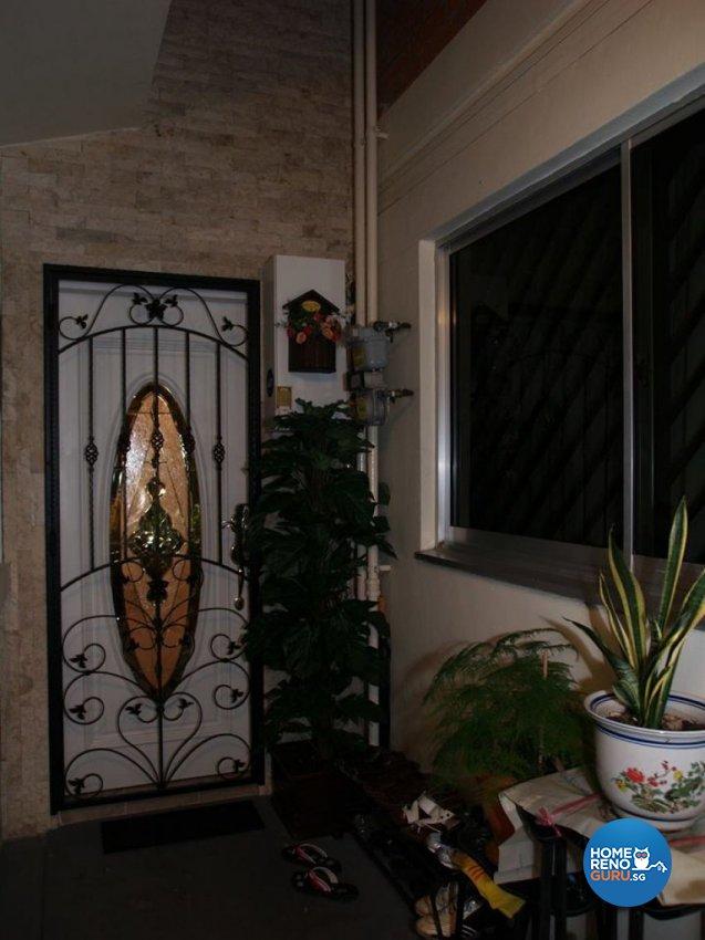 Country, Victorian Design - Garden - HDB Executive Apartment - Design by Impression Design Firm Pte Ltd