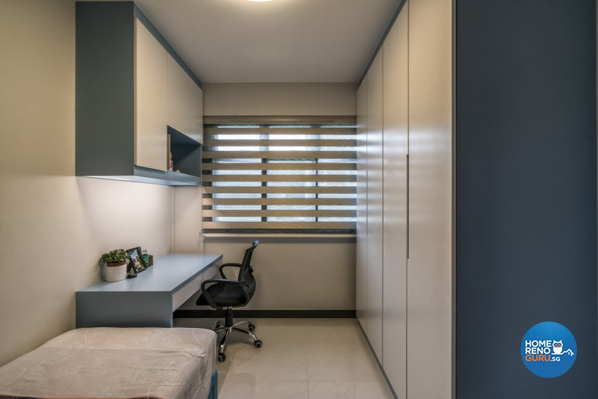 Contemporary, Modern Design - Study Room - HDB 4 Room - Design by In2Space Interior Pte Ltd