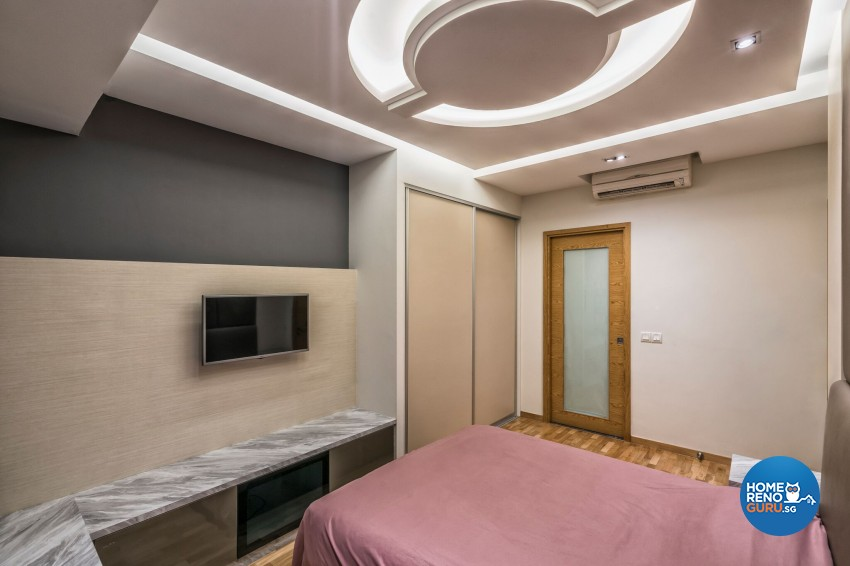 Contemporary, Modern Design - Bedroom - Condominium - Design by In2Space Interior Pte Ltd