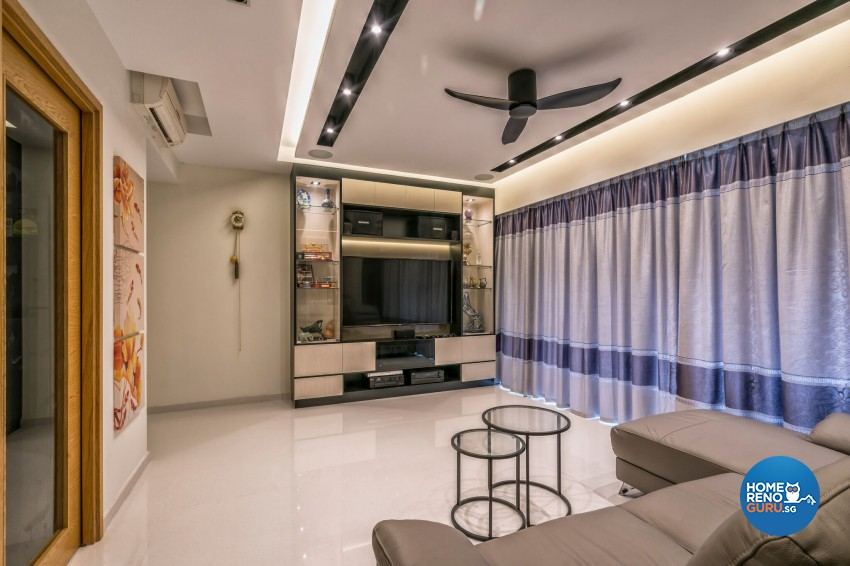 Contemporary, Modern Design - Living Room - Condominium - Design by In2Space Interior Pte Ltd