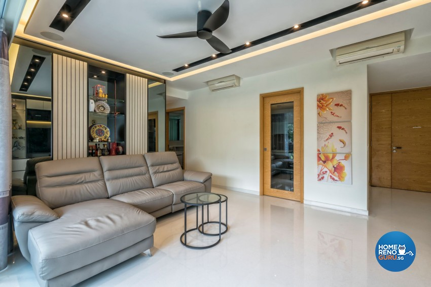 Contemporary, Modern Design - Living Room - Condominium - Design by In2Space Interior Pte Ltd