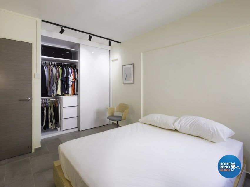 Minimalist Design - Bedroom - HDB 3 Room - Design by In2Space Interior Pte Ltd