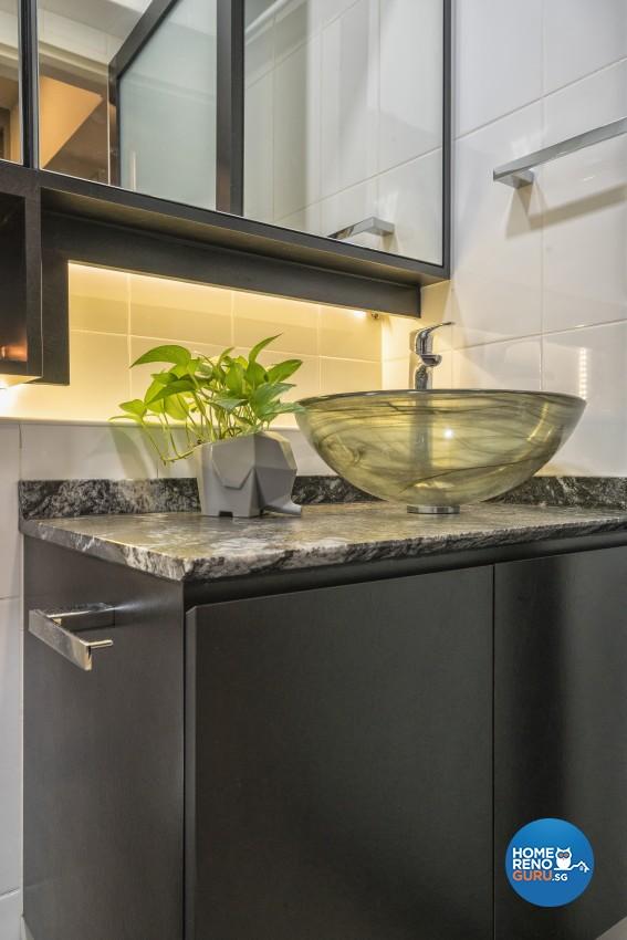 Contemporary, Modern Design - Bathroom - HDB 4 Room - Design by In2Space Interior Pte Ltd
