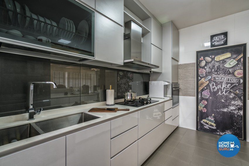 Contemporary, Modern Design - Kitchen - HDB 4 Room - Design by In2Space Interior Pte Ltd