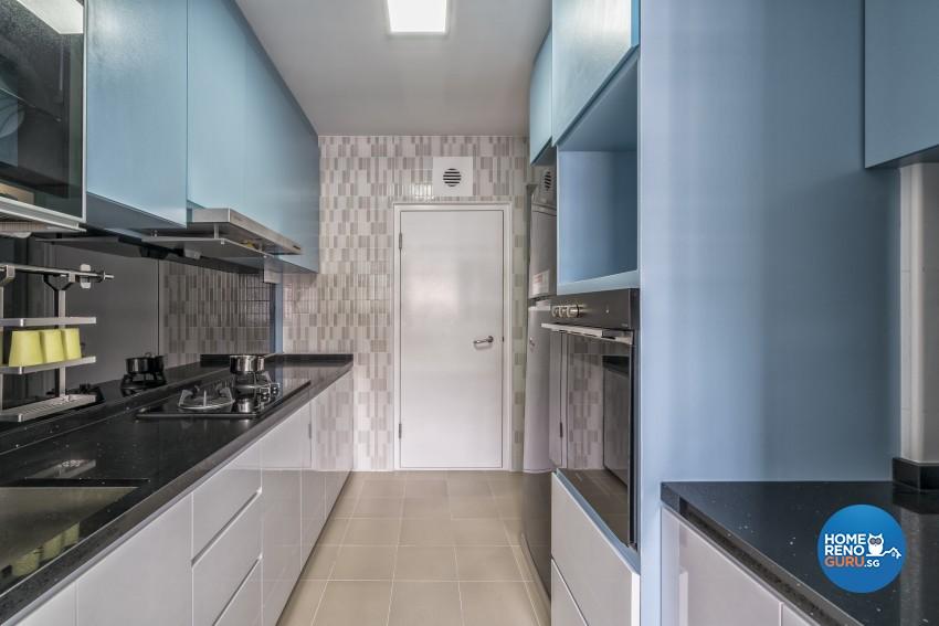 Contemporary, Modern Design - Kitchen - HDB 4 Room - Design by In2Space Interior Pte Ltd