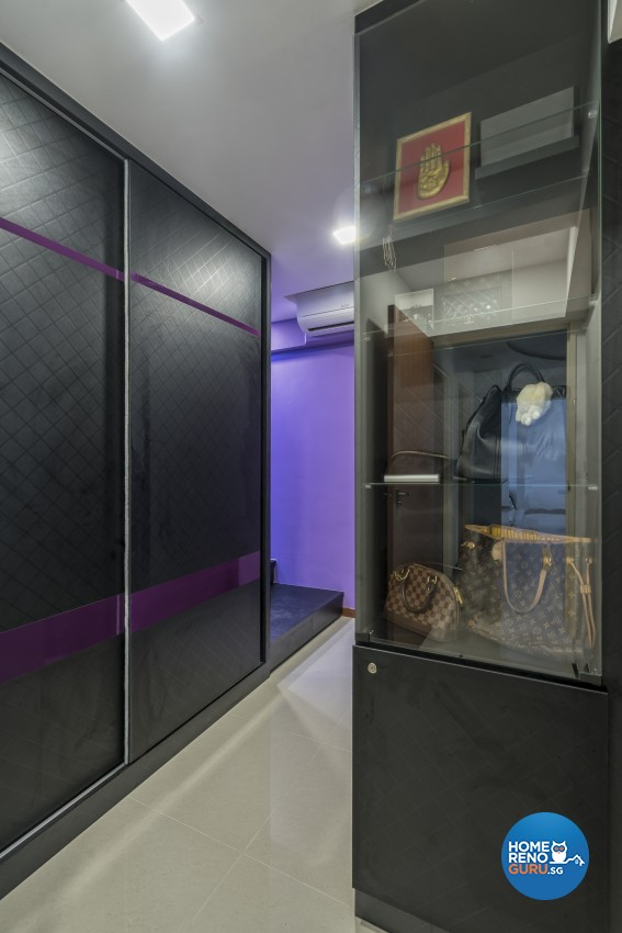 Contemporary, Modern Design - Bedroom - HDB 4 Room - Design by In2Space Interior Pte Ltd