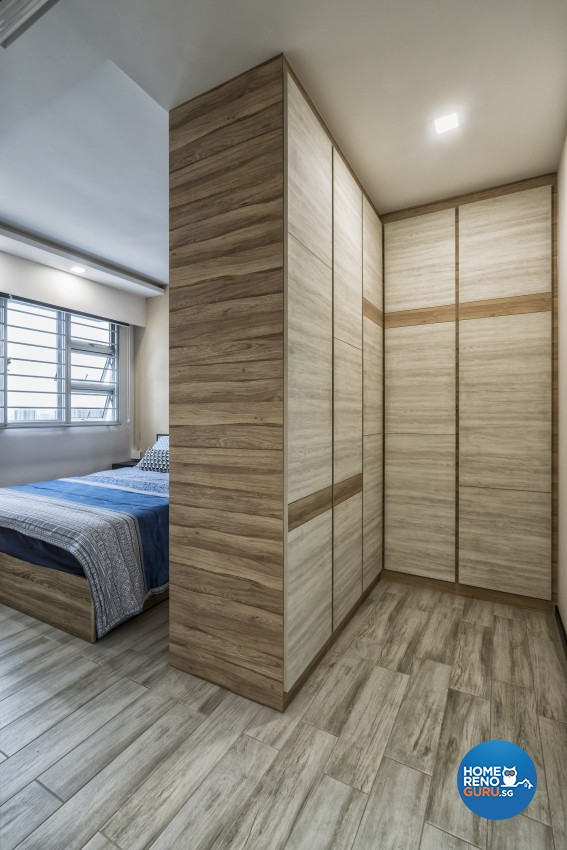 Contemporary, Minimalist, Modern Design - Bedroom - HDB 5 Room - Design by In2Space Interior Pte Ltd