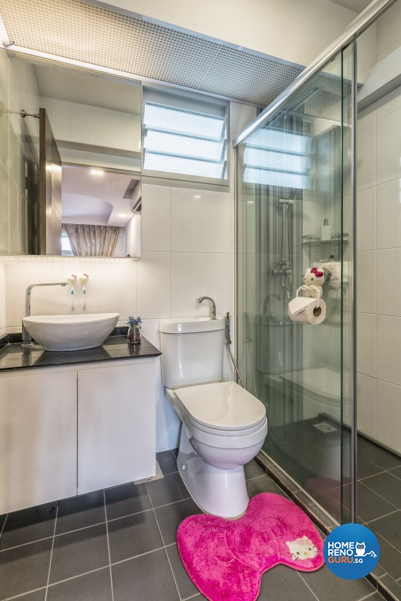 Contemporary, Modern, Victorian Design - Bathroom - HDB 4 Room - Design by In2Space Interior Pte Ltd