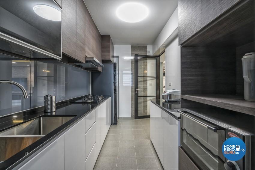 Contemporary, Modern Design - Kitchen - HDB 5 Room - Design by In2Space Interior Pte Ltd