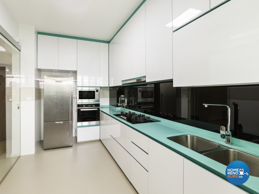 Contemporary, Modern Design - Kitchen - HDB 5 Room - Design by In2Space Interior Pte Ltd