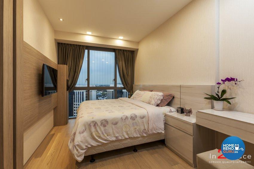 Contemporary, Modern Design - Bedroom - Condominium - Design by In2Space Interior Pte Ltd