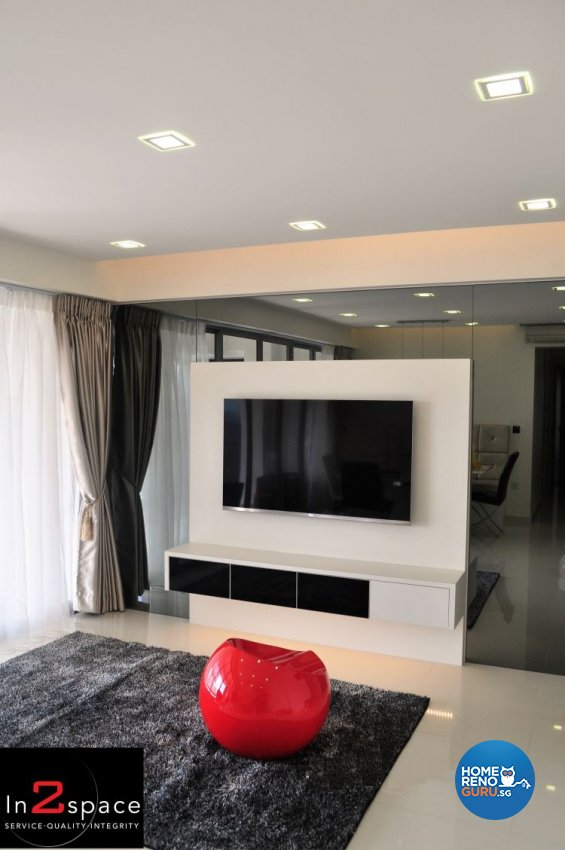 Classical, Minimalist, Modern Design - Living Room - Condominium - Design by In2Space Interior Pte Ltd
