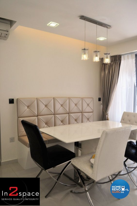 Classical, Minimalist, Modern Design - Dining Room - Condominium - Design by In2Space Interior Pte Ltd
