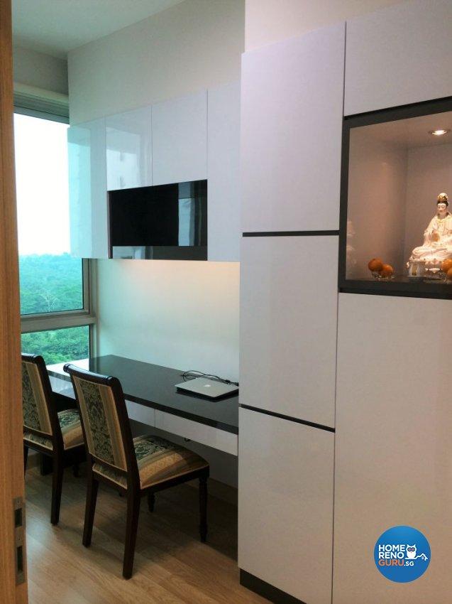 Classical, Contemporary, Modern Design - Study Room - Condominium - Design by In2Space Interior Pte Ltd