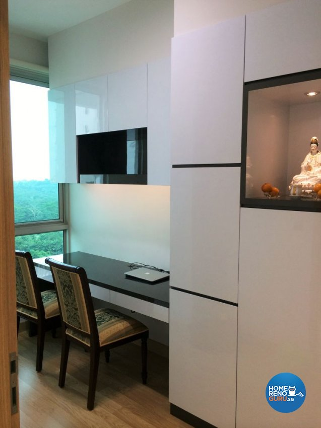 Classical, Contemporary, Modern Design - Study Room - Condominium - Design by In2Space Interior Pte Ltd
