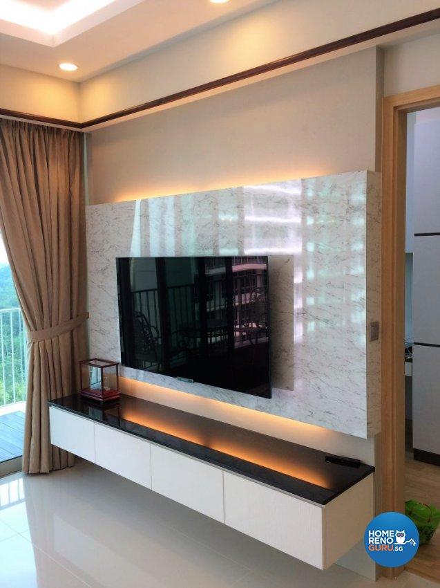 Classical, Contemporary, Modern Design - Living Room - Condominium - Design by In2Space Interior Pte Ltd