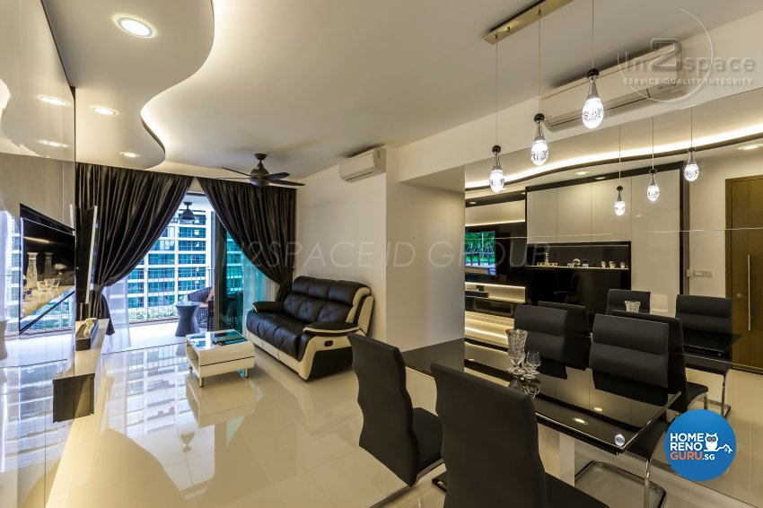 Contemporary, Modern Design - Dining Room - Condominium - Design by In2Space Interior Pte Ltd