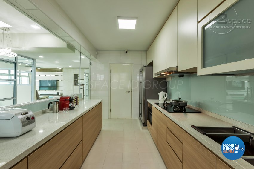 Contemporary, Minimalist, Modern Design - Kitchen - HDB 5 Room - Design by In2Space Interior Pte Ltd