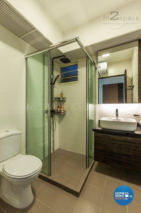 Contemporary, Modern Design - Bathroom - HDB 5 Room - Design by In2Space Interior Pte Ltd